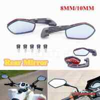 Motorcycles Rear View Mirror Bike Cycling Back Sight Rearview Adjustable Mirrors