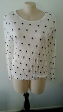 Brand New With Tags   Long sleeved top from Piper size 16 Cream in colour