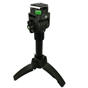 Mini Tripod Table Top Pan Tilt Head Folding Portable For Compact Cameras 473185