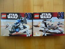 Lego Star Wars 7667 Imperial Dropship und 7668 Rebel Scout Speeder mit OVP