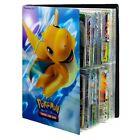 240Pcs Pokemon Album Cards Book Game Card Collectors Binder Holder
