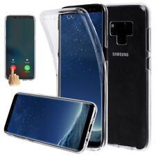 360° Full Cover Clear Silicone Slim Front+Back Case For Samsung Galaxy Note 9