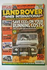 Land Rover Owner International Magazine. August Issue 9,  2005. DIY Comp Discov