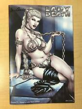Lady Death #1 NAUGHTY Lady Slave Variant Cover by David Harrigan Slave Leia