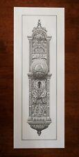 New Salt Lake Temple Door Handle Knob Art Print LDS Mormon doorknob