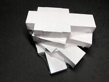 25 Cajitas 4x4 cm Minerales de Colección. Mineral Boxes. Caja cartón blanco.