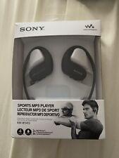 Sony Waterproof Wearable Walkman 4GB Headphone-Integrated NW-WS413 Mp3 Player