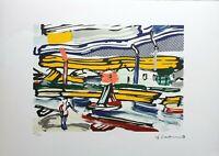 Roy Lichtenstein - Litografia numerata ed. limitata