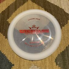 Lightly Used, Unmarked Dynamic Discs Lucid Trespass 171g