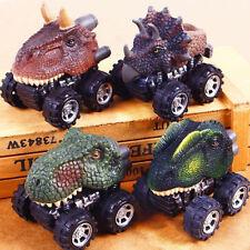 Mini Dinosaur Pull Back Car Toy Animal Vehicles Baby Toddlers Children Kids Gift