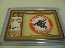 2011 Topps Update #TLMP-ZB Zach Britton Throwback Patch Baltimore Orioles