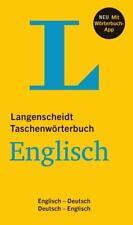 Langenscheidt Taschenwörterbuch Englisch - Buch und App (2016, Set mit diversen Artikeln)