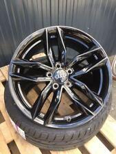 18 Zoll MAM RS3 Felgen et45 5x112 schwarz für Audi VW Seat Skoda GTI S3 RS AMG