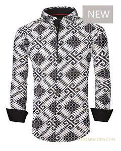 Regular fit Pavini shirt 020-002 White