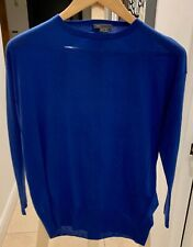 VINCE BRIGHT BLUE CASHMERE SWEATER - NEVER WORN