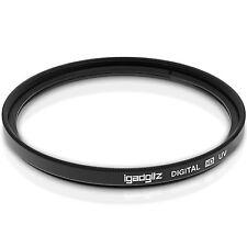 77mm UV Filtro Lente Ultravioleta Protector para Canon Nikon Sony Pentax