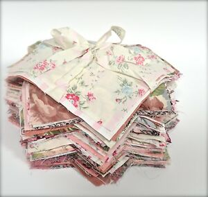 Pink Bundle Craft Fabric Material Sewing Patchwork Quilting Squares