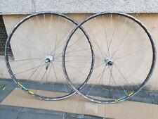 RESTAURIERT Shimano 600 Tricolor /Mavic OPEN 4 CD Rennrad Laufradsatz 7-8-9 Spee
