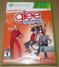 Karaoke Revolution: Glee Vol. 3 (Microsoft Xbox 360) Brand New / Fast Shipping
