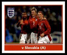 Merlin England 2004 - A.Cole/Beckham/Butt (v Slovakia Away) No. 32