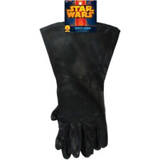 Darth Vader Gloves Star Wars Black Costume Accessory Novelty Force Dark Side