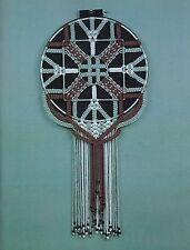 Abstract Geometric Macrame Wall Hanging Art Designer Showcase Craft Book PD1180