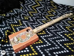FRETTED Diddley Bow, Electric, Piezo, Volume/Tone  b50