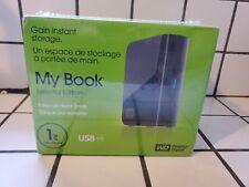 WESTERN DIGITAL MY BOOK ESSENTIAL EDITION EXTERNAL HARD DRIVE 1TB