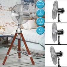 AEG 3-Stufen Stand Ventilator Lüfter Kühler höhenverstellbar Holz Stativ 50 Watt