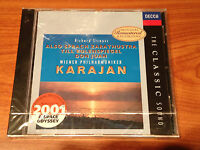 HERBERT VON KARAJAN STRAUSS AUDIOPHILE GERMANY DECCA THE CLASSIC SOUND SERIES CD