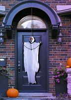 Halloween Decorations Spooky Hanging White Ghost Scary Skeleton Prop Horror Scen