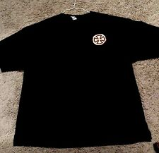 Independent Skateboard Trucks Logo Black T-Shirt XXL Vintage Rare 2 Sided 2XL