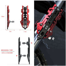 1 Pair Red Aluminum Alloy Motorcycle Front Shock-proof Cover Up &Down Adjustable
