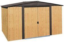 Arrow Outdoor Backyard Storage Shed Building Woodlake Metal Lockable Door 8x6ft
