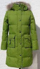 Women's/Lady's Winter Long Down Coat (GM5062),Green,M