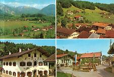 83313 Eisenärzt im Chiemgau  - Gemeindeverwaltung - Ortsmitte mit Brunnen - 1967