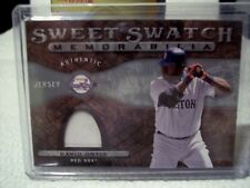 "2009 Upper Deck Sweet Spot - David ""Big Papi"" Ortiz Jersey - Sweet Swatch"