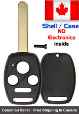 1x New Replacement Keyless Remote Key Fob Shell / Case  Honda & Acura