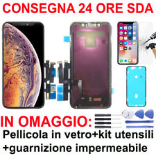 SCHERMO VETRO IPHONE XR DISPLAY LCD + TOUCH SCREEN + FRAME TIANMA NERO