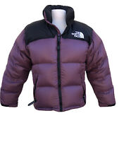 NORTH FACE Puff Puffer Quilted Down Purple Black Jacket Coat Women's Medium M