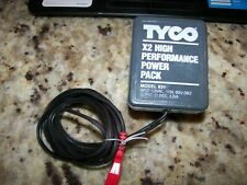 Tyco X2 High Performance Slot Car Wall Plug Transformer Pack, Model 631, 21VDCX