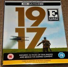 1917   4K Ultra HD Digibook+Blu Ray /REGION FREE/WORLDWIDE SHIPPING