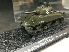 Altaya IXO 1/72 Scale Diecast M4A3 Sherman 756th Tank Battalion France 1945