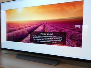 TV 4K LG OLED  65E8 (164 cm) comme neuve