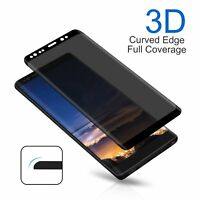 Privacy Anti-Spy Tempered Glass Screen Protector For Samsung Galaxy Note 9 / S9
