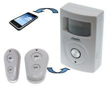 Battery Powered 2G GSM PIR Alarm & 2 x Remote Controls (UltraPIR)