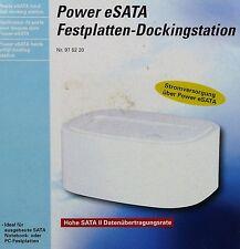 """Power eSATA dischi rigidi-Docking Station 2,5"""" e 3,5"""""""