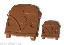 CAMPER VAN Bus Car Boys Chocolate Silicone Bakeware Mould Candy Cake Mold Crayon