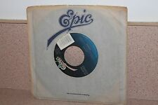 "Europe Carrie/Love chaser 7"" vinyl Epic original outer sleeve"