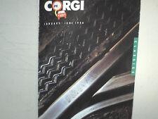 RARE CATALOGUE VENDEUR CORGI Gd FORMAT 1er SEM.1990/AUTO CAMIONS 1950/70